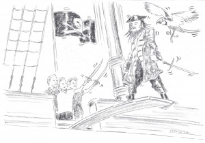 Pirate and children 2014 001