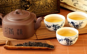 Far East: tea originated in China but has become a global drink with the English in particular clasping it to their tea pots