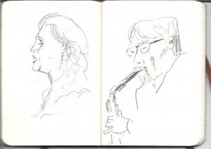 Bluebirds sketch 001