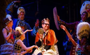 CHILDREN'S THEATRE MAGAZINE – REVIEW: Niall Ashdown as Ole Shuteye and the Emperor sparkles in Bristol Old Vic's Little Match Girl with itsmessages of homelessness and rejection – but what a depressing ending