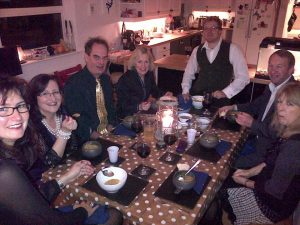 STRAWBERRY LINE TIMES – NEWS: Specially for foodies – the date of the Next Axbridge Progressive Supper is confirmed (and if you go please don't fall in a water filled ditch)