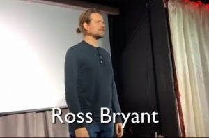 COMEDY AT THE AXBRIDGE ROXY – VIDEO: the performance poet Ross Bryant filmed at the Roxy in January (the next comedy night is on Thursday 24th May so book your tickets now!)