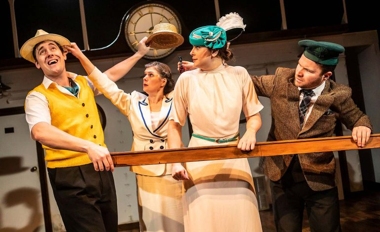 Rapscallion Magazine, Theatre Review: Crimes on the Nile – hyper fast who-dunnit spoof that is almost too fast at times